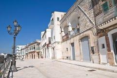 Vista di Cisternino. La Puglia. L'Italia. Fotografia Stock