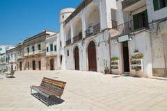 Vista di Cisternino La Puglia L'Italia Fotografia Stock Libera da Diritti