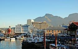 Vista di Città del Capo immagine stock