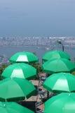 Vista di Corcovado in Rio de Janeiro immagine stock