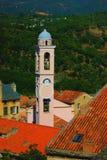 Vista di corte in Corsica Francia immagini stock