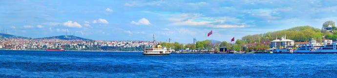 Vista di Costantinopoli dal Immagine Stock Libera da Diritti