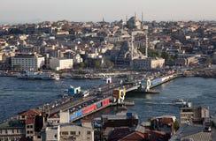 Vista di Costantinopoli, Turchia Immagine Stock