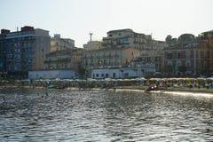 Vista di Crotone, Calabria Fotografie Stock Libere da Diritti