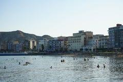 Vista di Crotone, Calabria - Italia Fotografie Stock Libere da Diritti