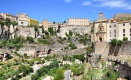 Vista di Cuenca Fotografie Stock Libere da Diritti