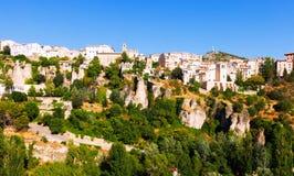 Vista di Cuenca. Castiglia-La Mancha Fotografia Stock Libera da Diritti