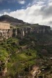 Vista di Cuenca, Spagna Fotografia Stock