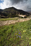 Vista di Cuenca, Spagna Immagini Stock