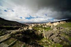 Vista di Cuenca, Spagna Fotografia Stock Libera da Diritti