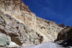 Vista di Death Valley Immagini Stock