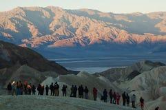 Vista di Death Valley Fotografia Stock Libera da Diritti