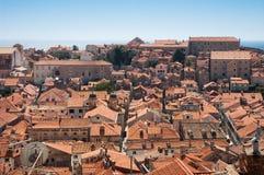 Vista di Dubrovnik immagine stock libera da diritti