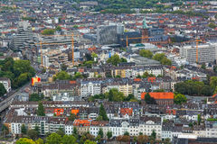 Vista di Dusseldorf Fotografia Stock