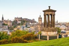Vista di Edinburgh Fotografia Stock