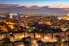 Vista di Edinburgh Fotografie Stock Libere da Diritti