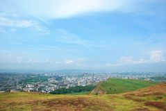 Vista di Edinburgh, Scozia Fotografia Stock