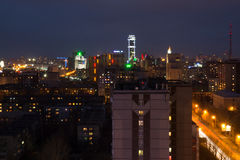 Vista di Ekaterinburg immagini stock