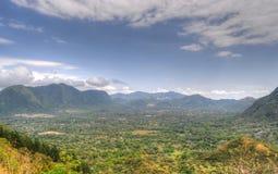 Vista di EL Valle Fotografie Stock
