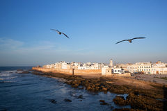 Vista di Essaouira, Marocco Fotografie Stock Libere da Diritti