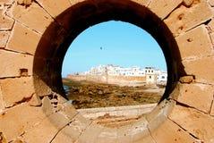 Vista di Essaouira, Marocco Fotografia Stock Libera da Diritti