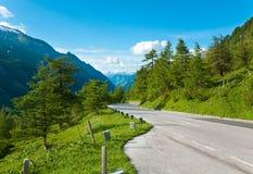 Vista di estate delle alpi Immagine Stock Libera da Diritti