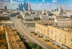 Vista di estate Mosca Immagine Stock Libera da Diritti