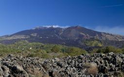 Vista di Etna - Unesco Immagini Stock Libere da Diritti