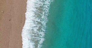 Vista di festa su litorale Mediterraneo video d archivio