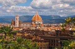 Vista di Firenze Immagine Stock