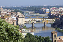 Vista di Firenze fotografie stock libere da diritti