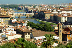 Vista di Firenze, Italia Immagine Stock