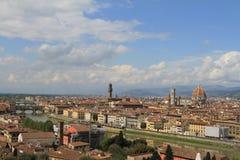 Vista di Firenze, Italia Immagini Stock Libere da Diritti