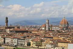 Vista di Firenze, Italia Fotografia Stock Libera da Diritti