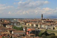 Vista di Firenze, Italia della città Fotografia Stock Libera da Diritti
