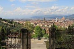 Vista di Firenze, Italia della città Immagini Stock