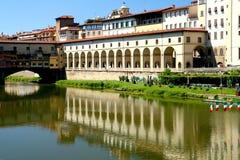 Vista di Firenze Pontevecchio Fotografia Stock Libera da Diritti