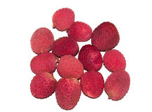 Vista di frutta esotica Fotografia Stock