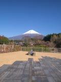 Vista di Fujiyama Fotografia Stock