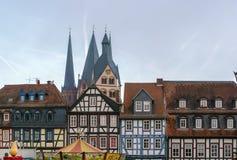 Vista di Gelnhausen, Germania fotografia stock
