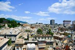 Vista di Genova immagini stock