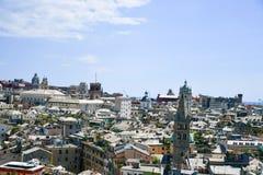 Vista di Genova immagine stock libera da diritti