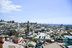 Vista di Genova fotografie stock