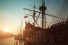 Vista di Genova immagini stock libere da diritti