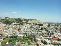 Vista di Gerusalemme fotografia stock libera da diritti