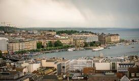 Vista di Ginevra Immagini Stock