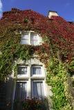Vista di giorno del cottage inglese a Bicester Regno Unito fotografia stock