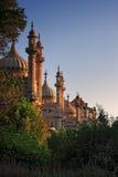 Vista di giorno del padiglione reale a Brighton immagine stock