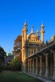 Vista di giorno del padiglione reale a Brighton Inghilterra fotografia stock
