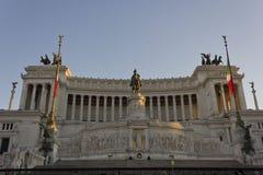 Vista di giorno dell'altare della patria Fotografie Stock Libere da Diritti